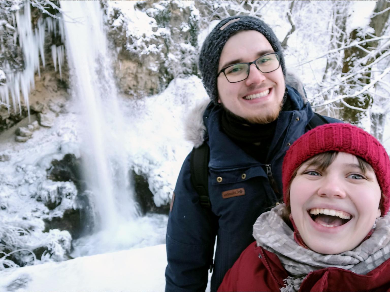 Lillafüred waterfall